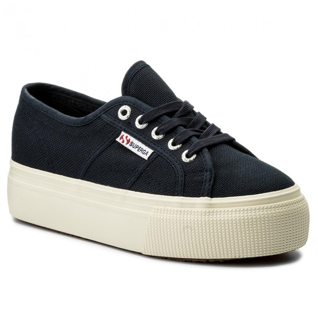 Superga 2790 Acotw Linea Up And Down Navy Womens Shoes