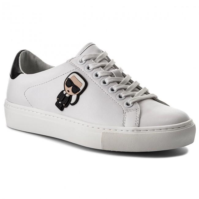 Sneakers KARL LAGERFELD - KL61030 White Lthr
