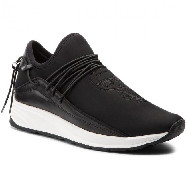 Sneakers KARL LAGERFELD - KL51146 Black Lthr/Textile