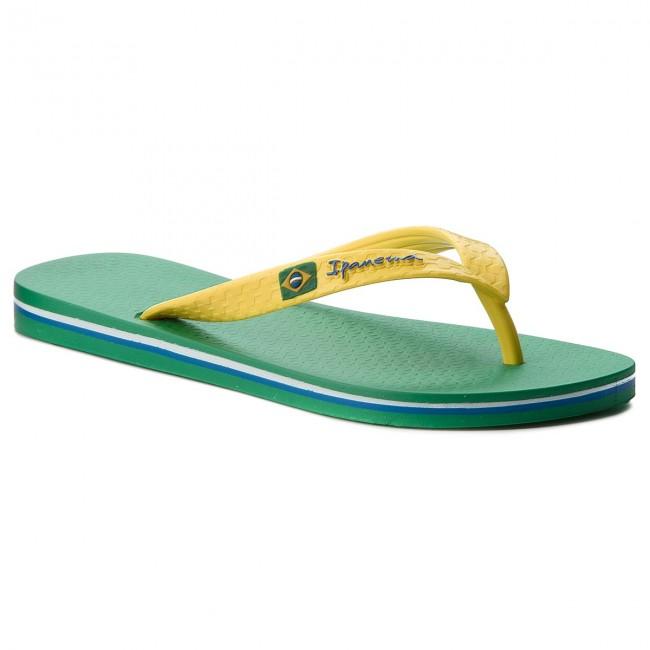Slides IPANEMA - Clas Brasil II Ad 80415 Green/Yellow 23183