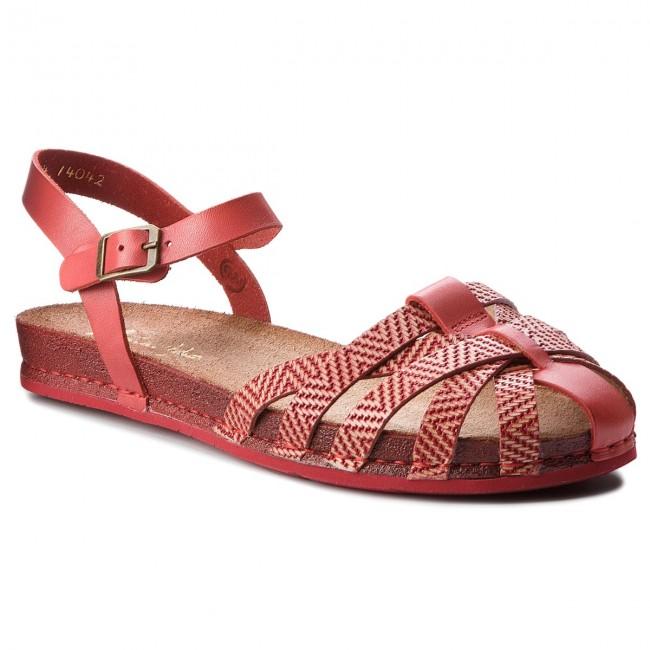 Sandals MACIEJKA - 03074-18/00-0 Czerwony/Jode