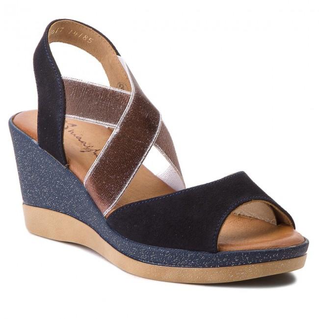 Sandals MACIEJKA - 03617-17/00-5 Granat