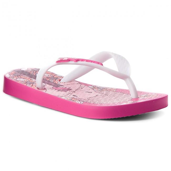 Slides IPANEMA - Temas XI Kids 82303 Pink/White 21977