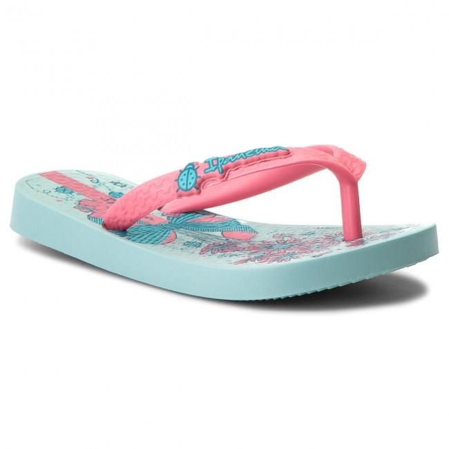 Slides IPANEMA - Ipanema Temas XI Kids 82303 Green/Pink 22299