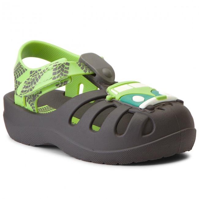 Sandals IPANEMA - Summer IV Baby 82308 Dark Grey/Green 24314