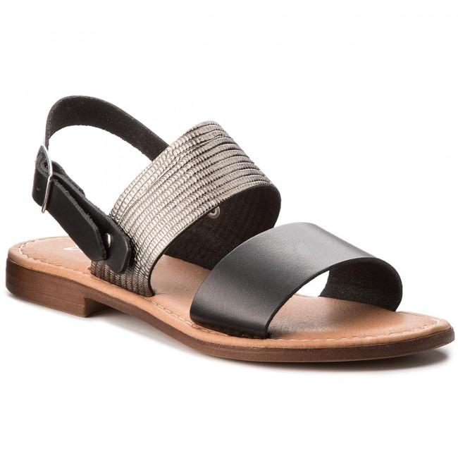 Sandals MACIEJKA - IT001-02/00-0 Nero/Canna Fucile