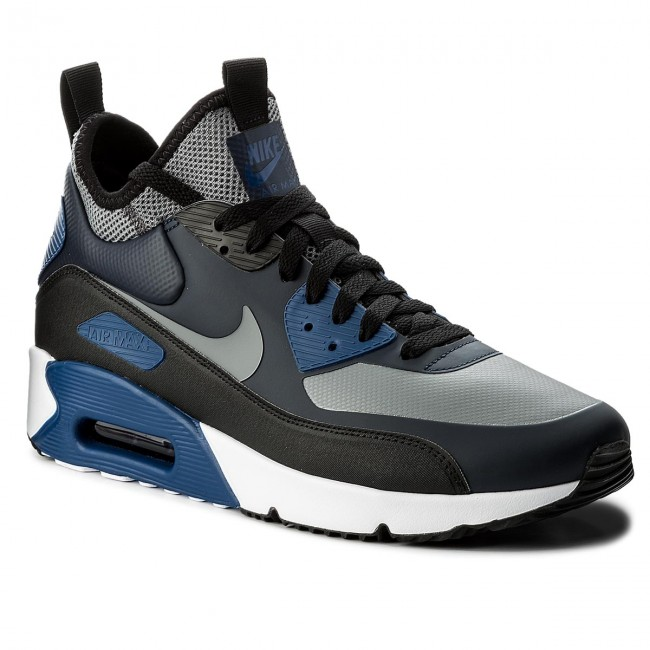 Shoes NIKE Air Max 90 Ultra Mid Winter 924458 401 ObsidianCool GreyBlack