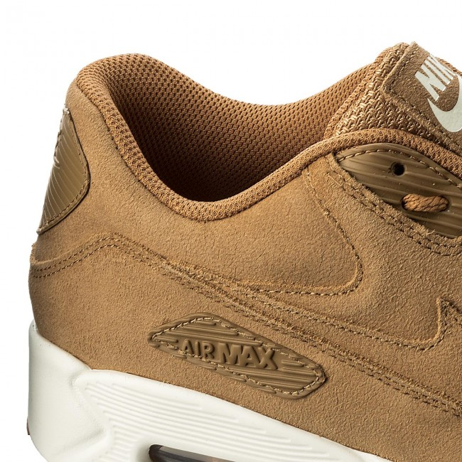 Shoes NIKE Air Max 90 Ultra 2.0 Ltr 924447 200 FlaxFlaxSailGum Med Brown