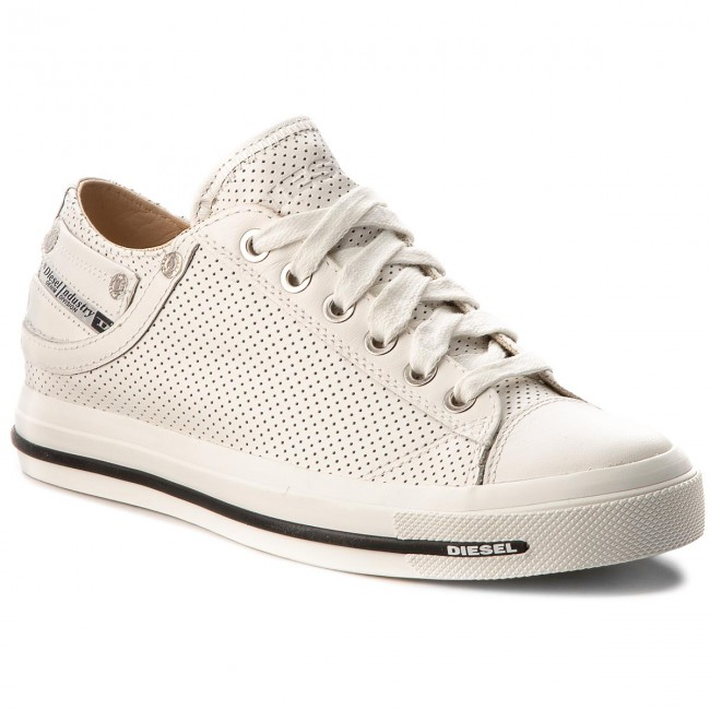 Plimsolls DIESEL - Exposure IV Low W Y01697 P1647 T1003 White