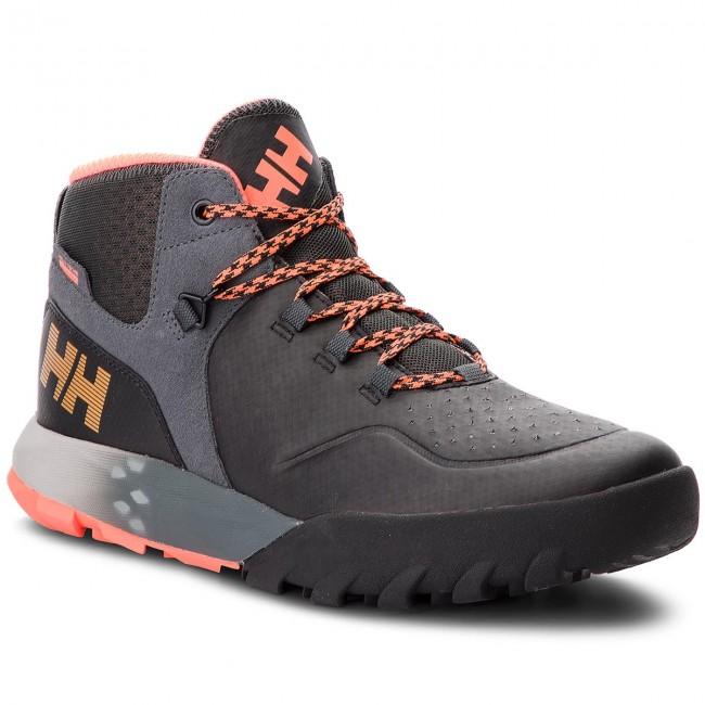 0d9245ba83ebe Trekker Boots HELLY HANSEN - W Loke Rambler Ht 114-03.990  Black/Ebony/Silver Grey/Neon Coral