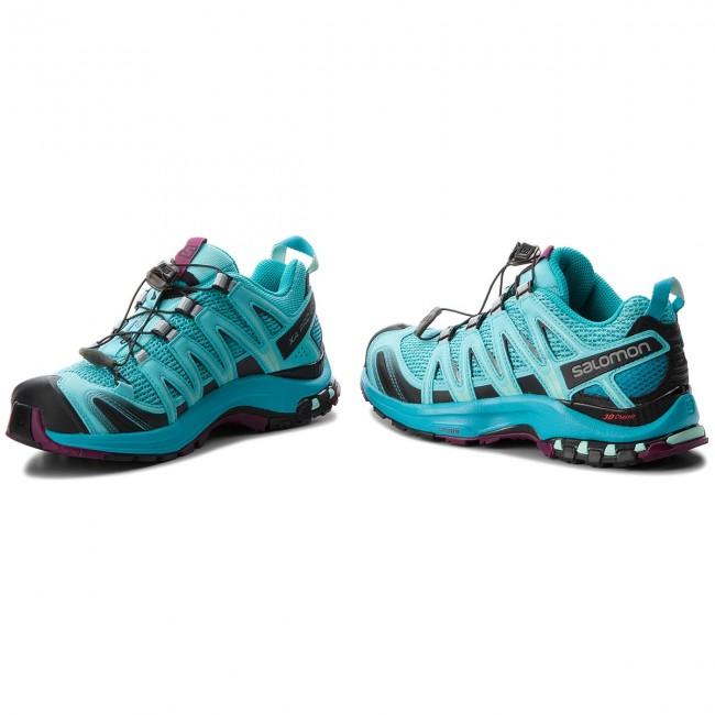 Shoes SALOMON Xa Pro 3D W 400896 22 V0 Blue Curacao 4oPuY
