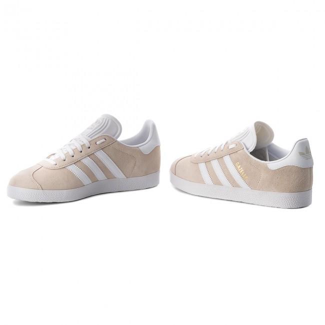 Adidas Online Store Gazelle Low Top Suede Sneakers Linen