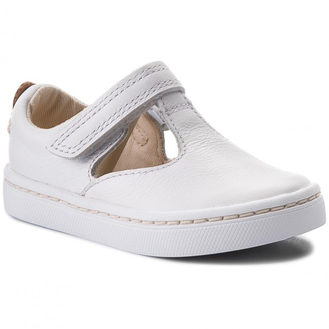 Shoes CLARKS - City Eden 261338536 White Leather