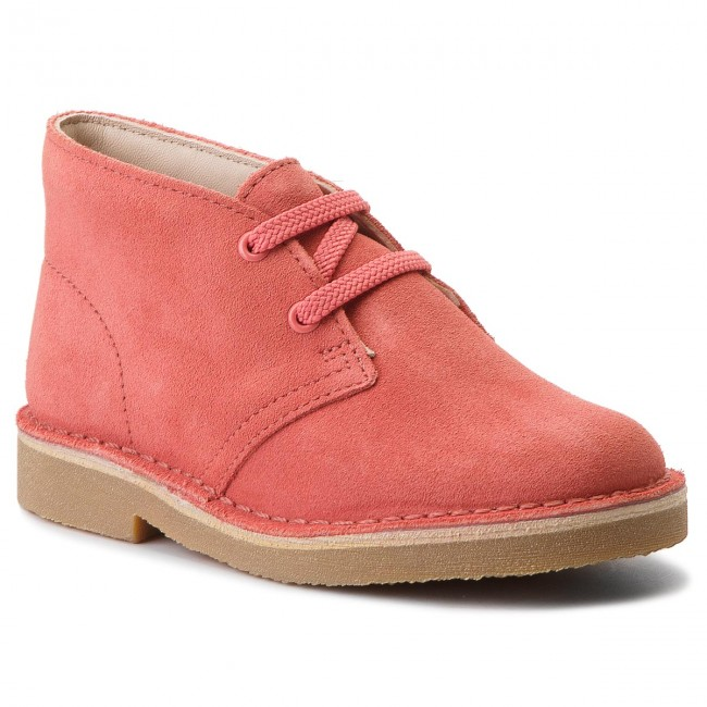 Boots CLARKS - Desert Boot 2613415770 Coral Suede