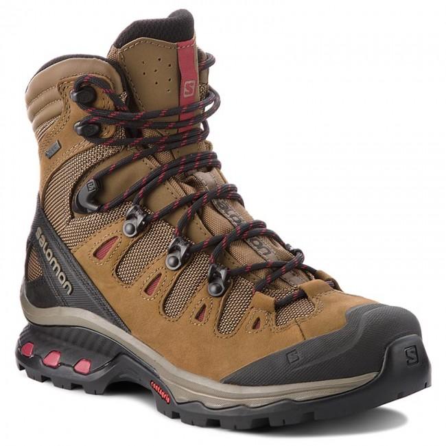 89269ea3646 Trekker Boots SALOMON - Quest 4D 3 Gtx W GORE-TEX 402458 20 G0  Teak/Teak/Tibetan Red
