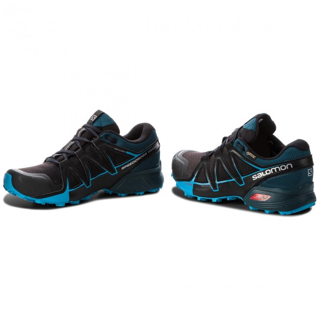 Shoes SALOMON Speedcross Vario 2 Gtx GORE TEX 404673 27 V0 BlackReflecting PondHawaiian Surf