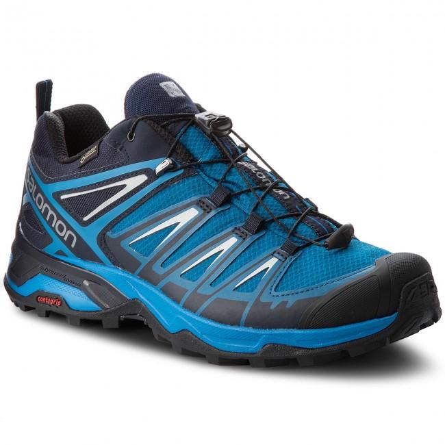 Trekker Boots SALOMON X Ultra 3 Gtx GORE TEX 404676 3O W0 Mykonos BlueIndigo BuntingPearl Blue i5iO5