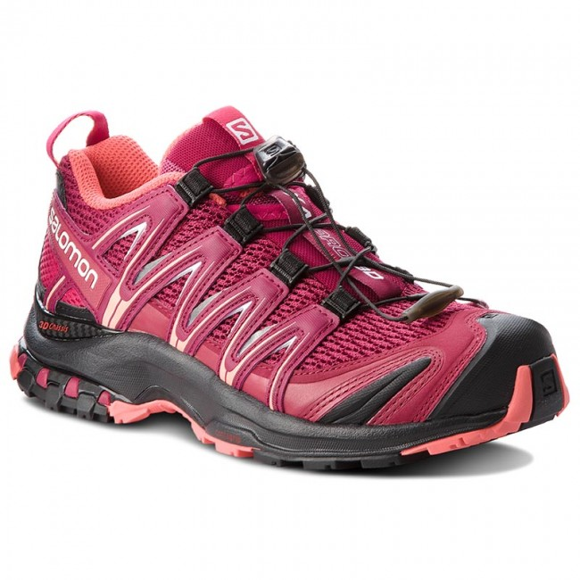 Shoes SALOMON Xa Pro 3D W 404715 21 V0 Beet RedCerise.Black