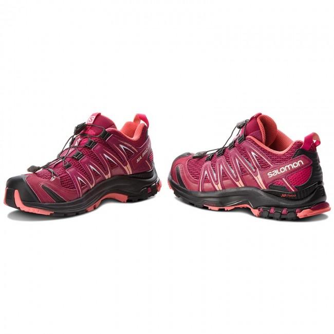 Shoes SALOMON Xa Pro 3D W 404715 21 V0 Beet RedCerise.Black