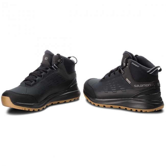 Trekker Boots SALOMON Kaipo Cs Wp 2 404717 31 V0 BlackPhantomMonument