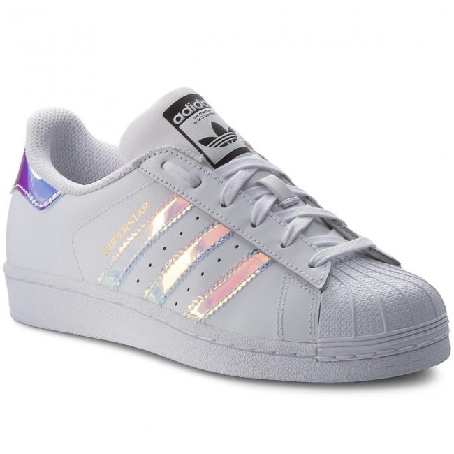 Shoes Adidas Superstar J Aq6278 Ftwwht Ftwwht Metsil Sneakers Low Shoes Women S Shoes Efootwear Eu