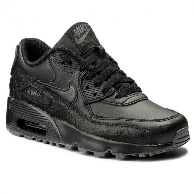 Shoes NIKE - Air Max 90 Ltr Se GG 897987 001 Black/Black/Dark Grey