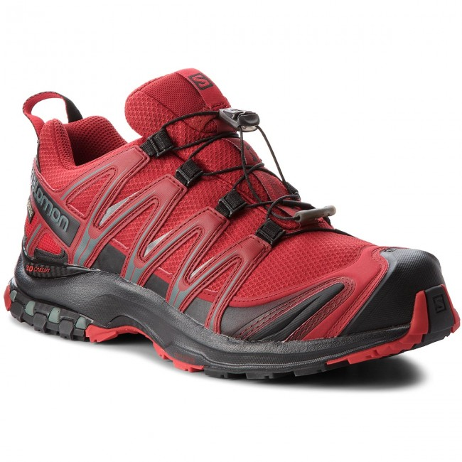 Shoes SALOMON Xa Pro 3D Gtx GORE TEX 404722 27 V0 Red DahliaBlackBarbados Cherry