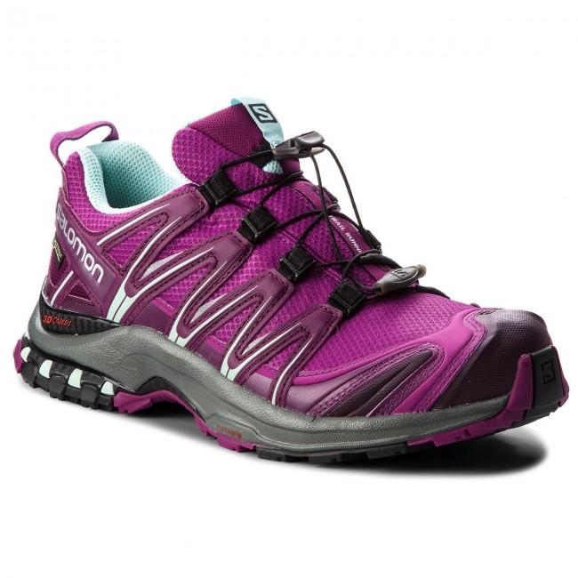 Shoes SALOMON Xa Pro 3D Gtx GORE TEX 404723 23 V0 HollyhockDark PurpleEggshell Blue