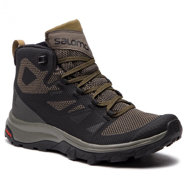 salomon outline mid gtx hiking boot - men's gloves