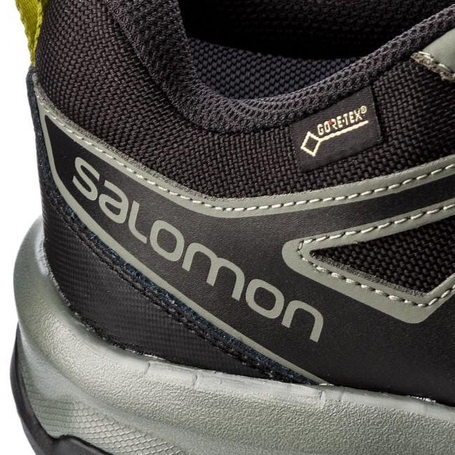 7341e8a5f4d Trekker Boots SALOMON - X Radiant Gtx GORE-TEX 404828 29 M0 Beluga/Castor  Gray/Citronelle