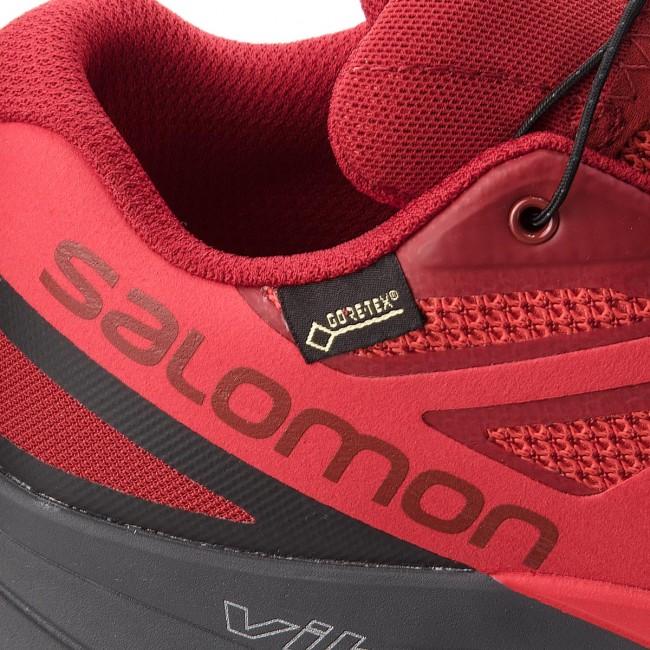 Shoes SALOMON Sense Ride Gtx Invisible Fit GORE TEX 404940 27 G0 Red DahliaPhantomHigh Risk Red