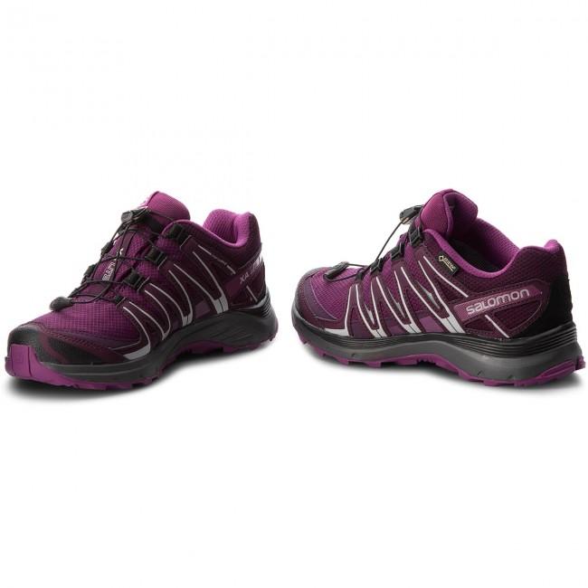 Shoes SALOMON Xa Lite Gtx W GORE TEX 406106 21 V0 Dark PurplePotent PurpleHollyhock