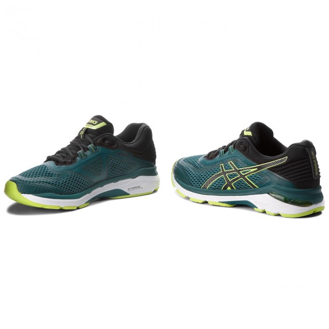 Shoes ASICS GT 2000 6 T805N EvergladeBlack 300