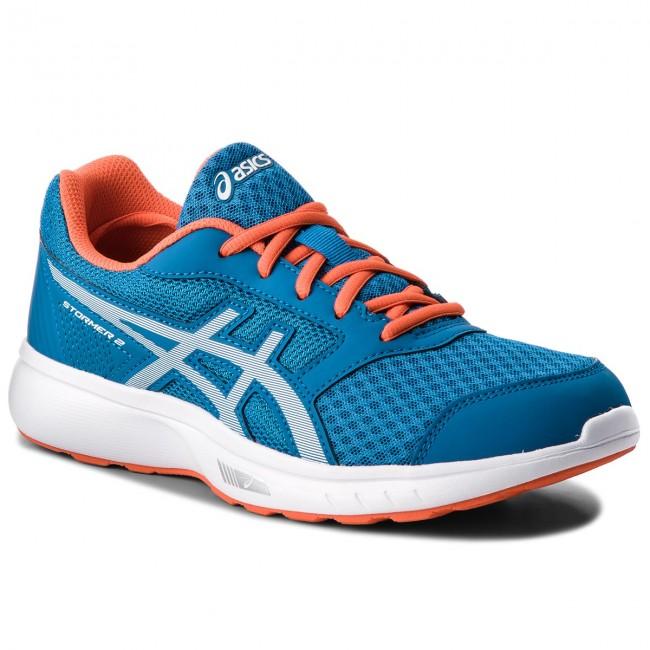 Shoes ASICS - Stormer 2 T843N Race Blue/White 400