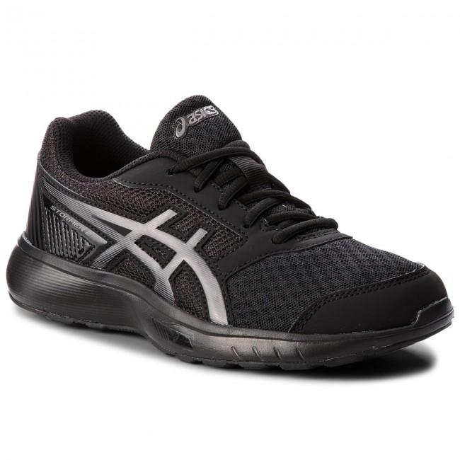 Shoes ASICS - Stormer 2 T893N Black/Black 002
