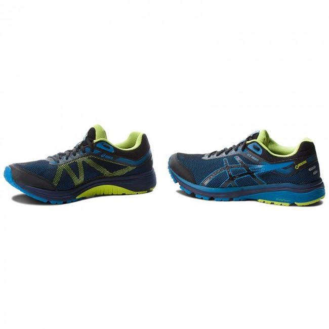 Shoes ASICS GT 1000 7 G Tx GORE TEX 101A037 BlackRace Blue 001