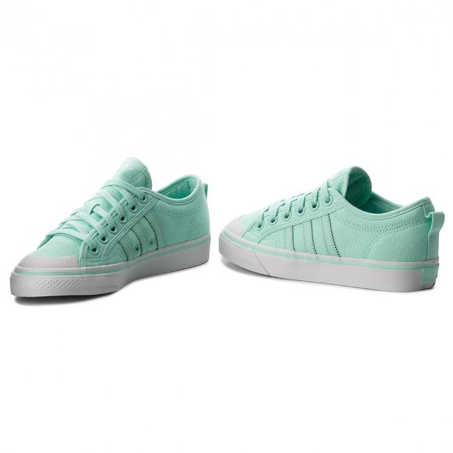 Green sneakers adidas Nizza 67$   B37870   Shooos