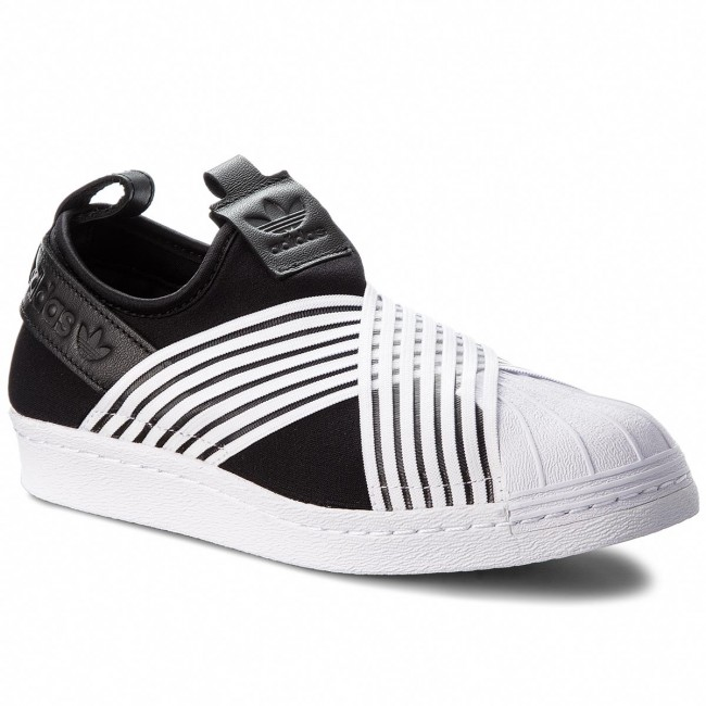 outlet store 4ad53 6b029 Shoes adidas - Superstar Slip On W D96703 Cblack/Ftwwht/Ftwwht