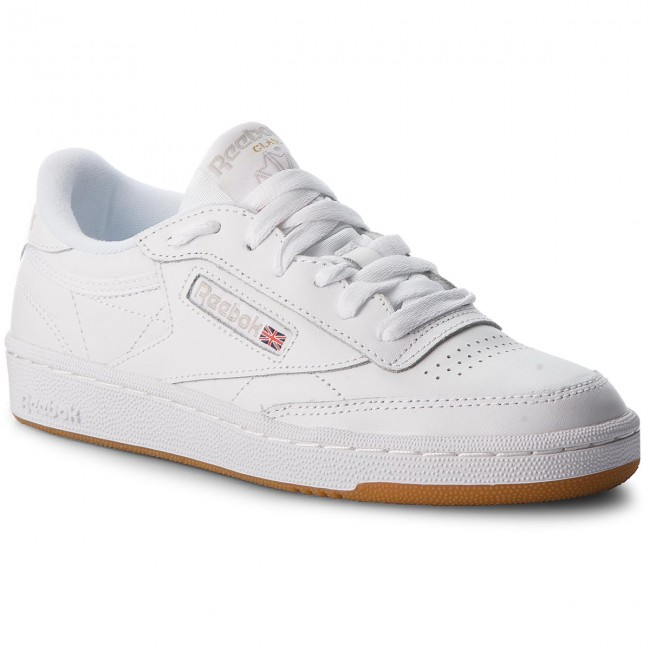 Shoes Reebok - Club C 85 BS7686  White/Light Grey/Gum