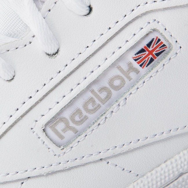 Reebok Club C 85 Trainers in White, Royal & Gum Reebok Classic