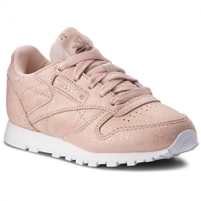 Leather Low shoes rose