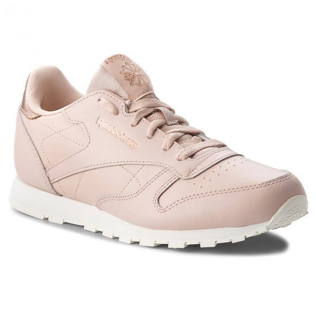 Reebok Cn5560 Beigechalk Classic Shoes Bare Leather cJFKl1
