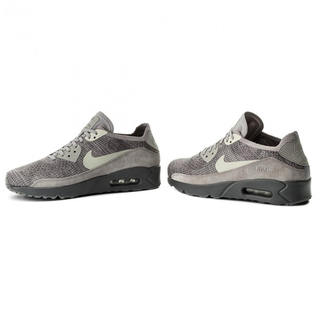 Shoes NIKE Air Max 90 Ultra 2.0 Flyknit 875943 007 Atmosphere GreyLight Bone