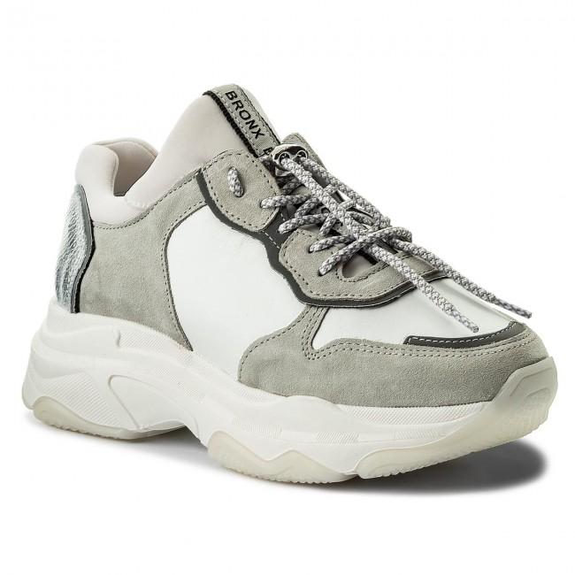 Sneakers BRONX - 66167-A BX 1525 White