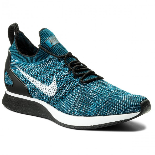 Shoes NIKE Air Zoom Mariah Flyknit Racer 918264 300 Green AbyssBlack Cirrus Blue