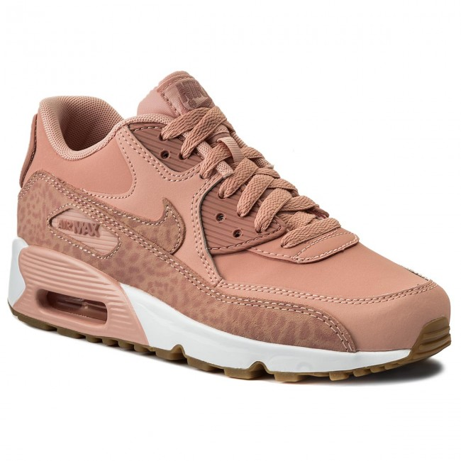 Shoes NIKE Air Max 90 Ltr Se GG 897987 601 Coral StardustRust PinkWhite