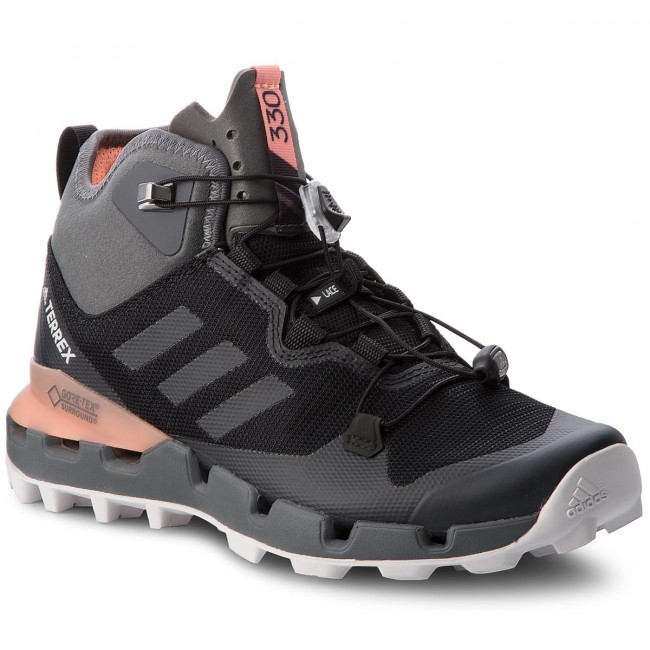 vertical Federal Preciso  Shoes adidas - Terrex Fast Mid Gtx-Surround GORE-TEX AH2250  Cblack/Grefiv/Chacor - Trekker boots - Sports shoes - Women's shoes |  efootwear.eu