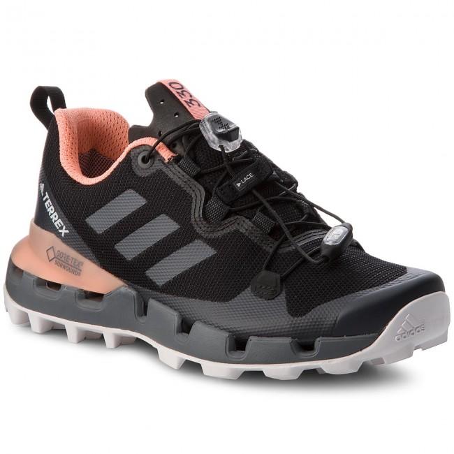 A través de Belicoso repertorio  Shoes adidas - Terrex Fast Gtx-Surround W GORE-TEX AQ0371  Cblack/Grefiv/Chacor - Trekker boots - Low shoes - Women's shoes    efootwear.eu