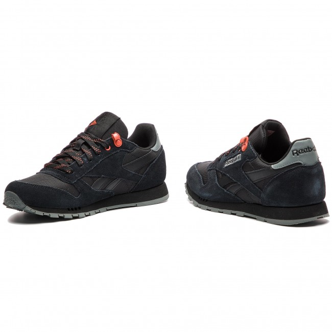 16a059c7 Shoes Reebok - Classic Leather CN4705 Black/Alloy/Carotene