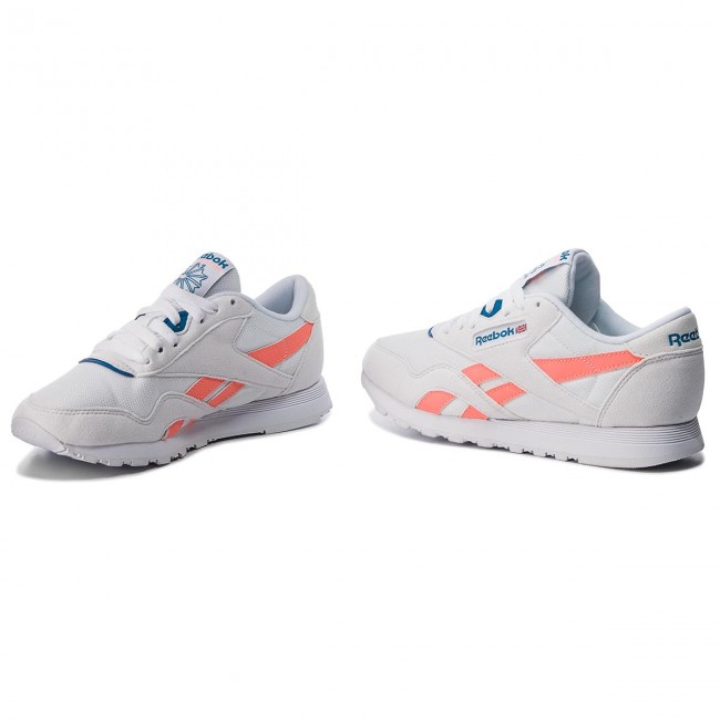 Shoes Reebok Cl Nylon M Txt CN2966 WhiteDigital PinkBlue